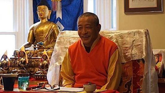 Buddha Weekly Rinpoche laughing Buddhism