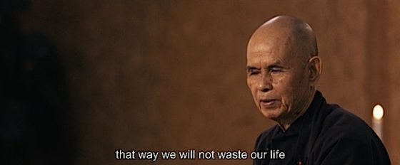 Buddha Weekly Thich Nhat Hanh Will Not Waste Our Life Buddhism