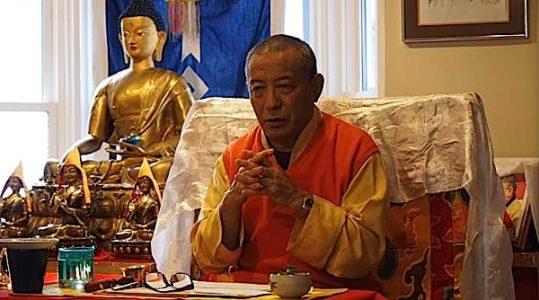 Buddha Weekly Zasep Rinpoche Clasped hands Buddhism
