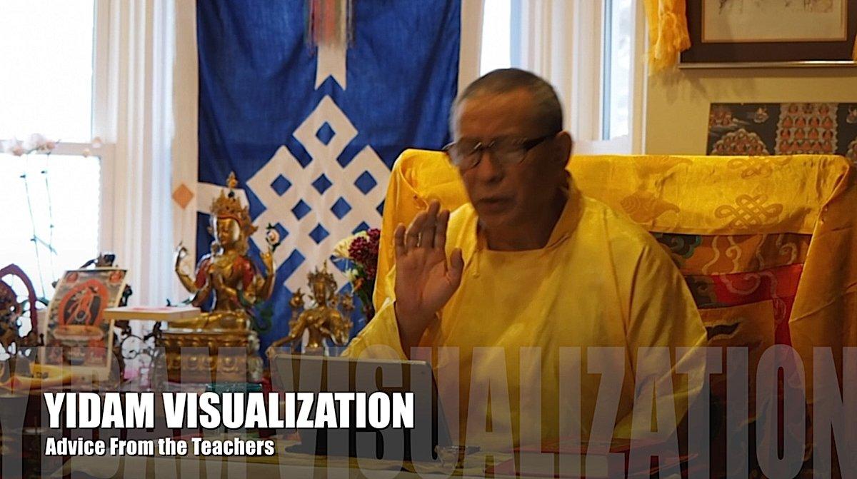Buddha Weekly Zasep Rinpoche Feature Yidam Visualization Buddhism