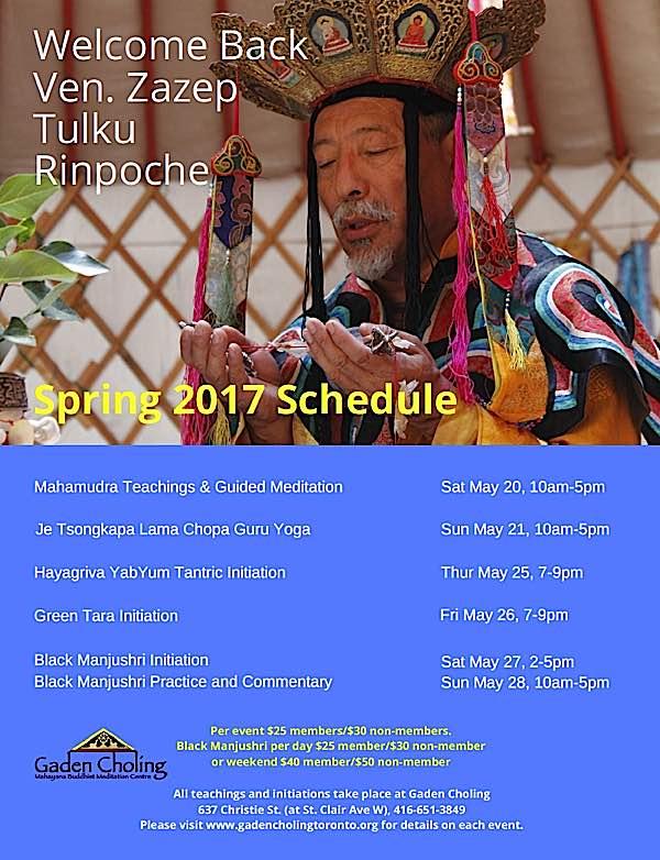Buddha Weekly Zasep Rinpoche Gaden Choling 2017 Buddhism