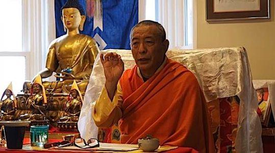 Buddha Weekly Zasep Rinpoche gestures Buddhism