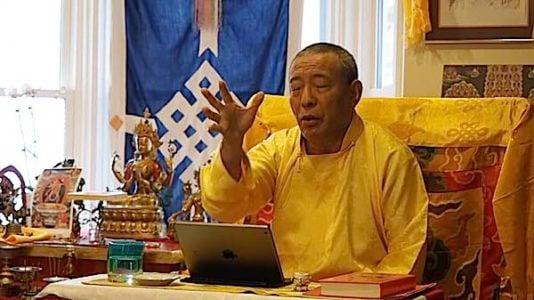 Buddha Weekly Zasep Rinpoche teaching on Yidams Buddhism