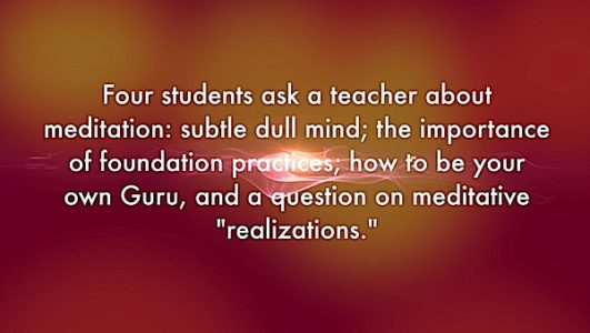 Buddha Weekly four students ask Buddhism