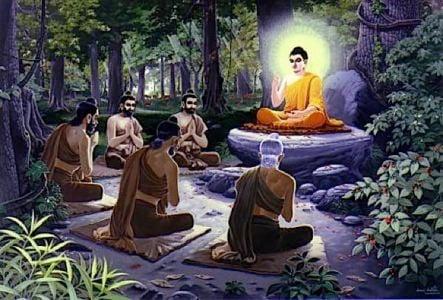 Buddha Weekly teaching buddha in forest Buddhism