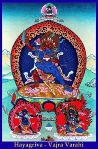 Buddha Weekly 2 arm Hayagriva Vajrayogini Gelug Buddhism