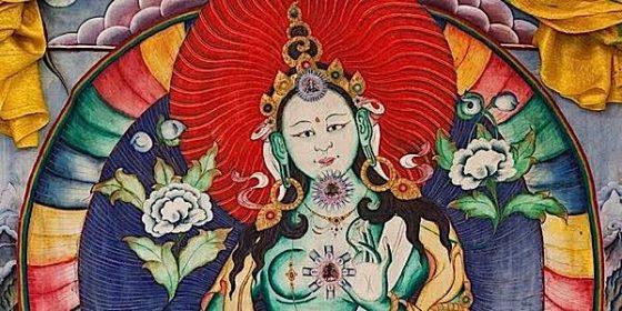 Buddha Weekly Chittimani Tara with body mandala Buddhism