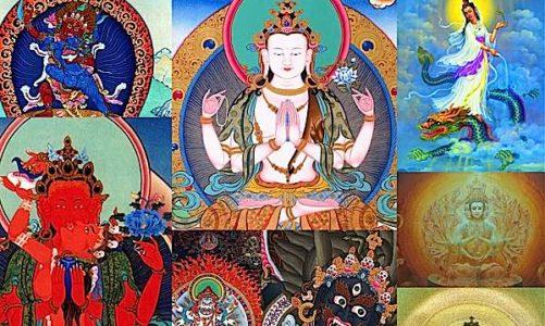 Buddha Weekly Feature Shot Chenrezig many faces Buddhism