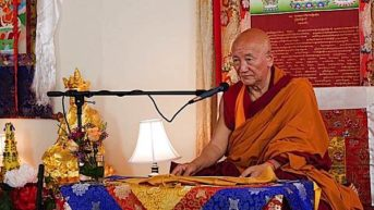 Saka Dawa Celebration with Gyumed Khensur Rinpoche Lobsang Jampa