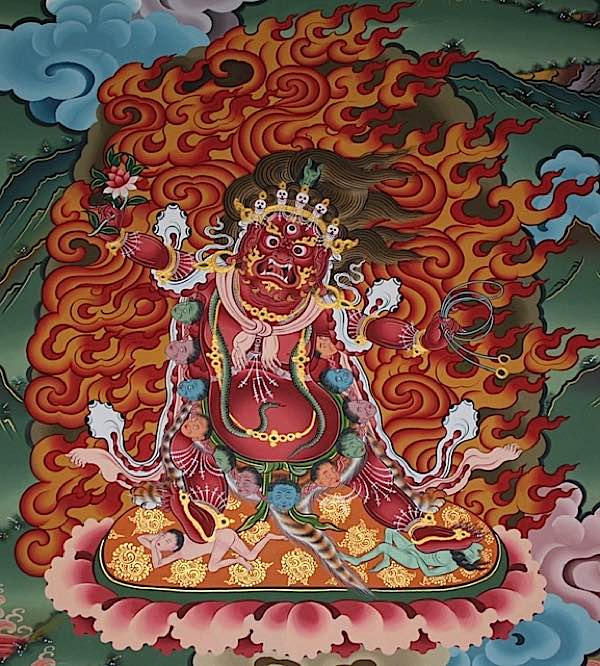 Buddha Weekly HAYAGRIVA WITH RED LOTUS Buddhism