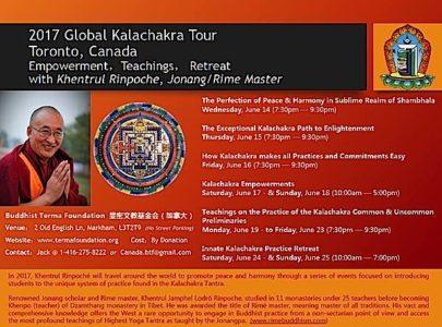 Buddha Weekly Kalachakra world tour event Buddhism