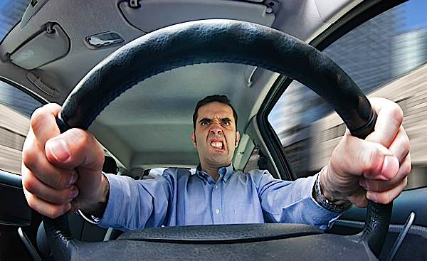 Buddha Weekly Road Rage danger from anger hazard on road buddhist obstacle Buddhism