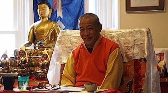 Buddha Weekly Zasep Tulku Rinpoche teaching and laughing Buddhism