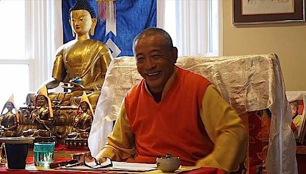 Buddha Weekly Zasep Tulku Rinpoche teaching at Gaden Choling Toronto Buddhism