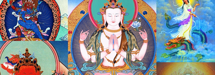 The many faces of Avalokiteshvara's compassion: sometimes we need a father or mother, sometimes a friend, sometimes a warrior