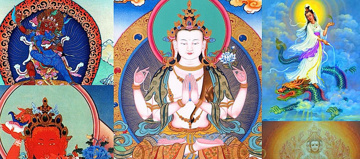 Many Faces of Avaolikiteshvaras compassion