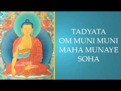 Shakyamuni mantra