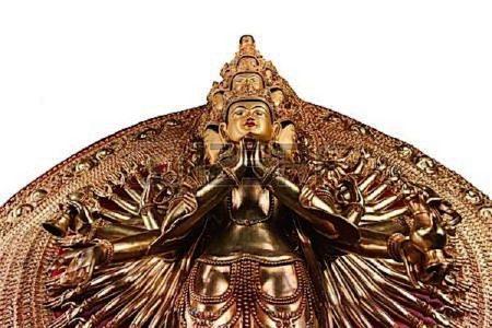 Buddha Weekly 1000 armed chenrezig avalokiteshvara guanyin Buddhism