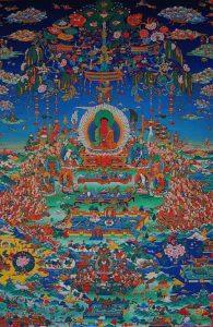 Buddha Weekly Buddha glorious sukhavati realm of buddha amitabha art school Buddhism