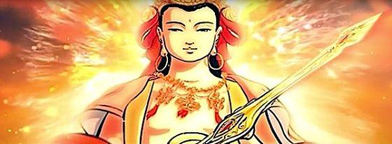 Buddha Weekly Buddha teaches Amitabha sutra to Majushri Buddhism