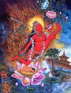 Buddha Weekly Flying Vajrayogini Gorgeous Buddhism
