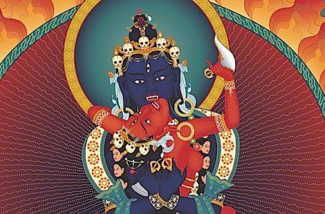 Buddha Weekly Heruka Vajrayogini close up Buddhism