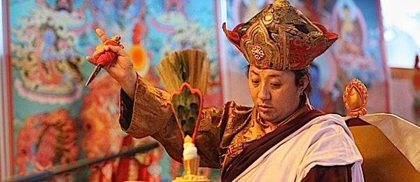Buddha Weekly Namkha Rinpoche root guru of Rigdzin Pema Tuthob at Natsog Dorje Buddhism