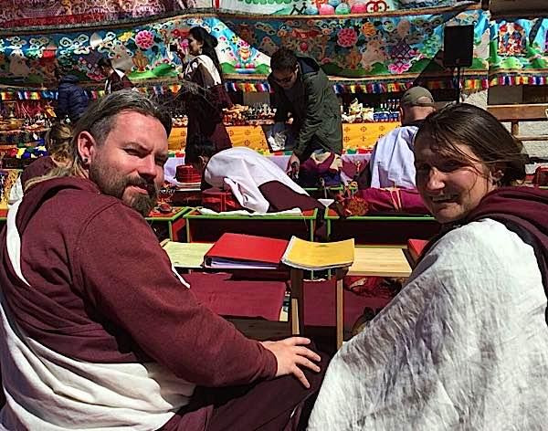 Buddha Weekly Rigdzin Pema Tuthob and Tashi Lhamo Buddhism