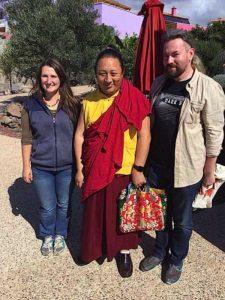 Buddha Weekly Rigdzin Pema Tuthob with teacher Namkha Rinpoche and Tashi Lhamo Buddhism