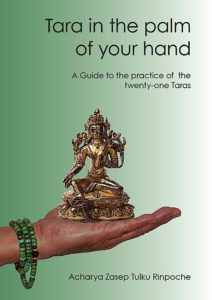 Buddha Weekly Tara in the Palm of Your Hand Zasep Rinpoche book cover copy Buddhism
