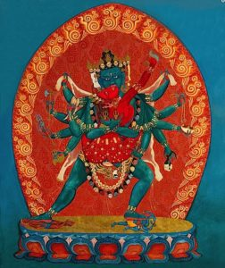 Buddha Weekly Vajrayogini Heruka 12 arm in embrace Buddhism