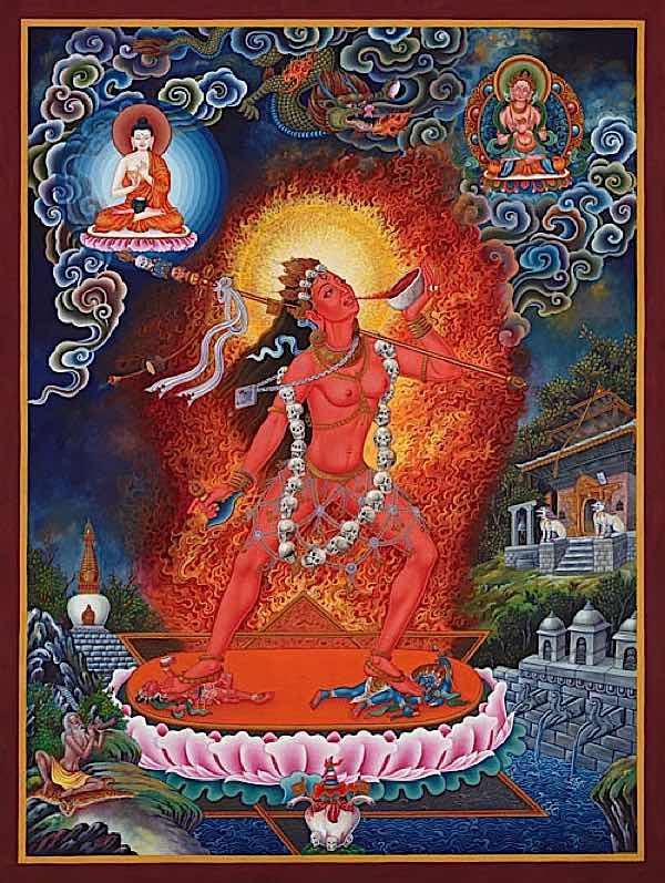 Buddha Weekly Vajrayogini Rober Beer Gorgeous Buddhism