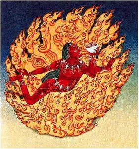 Buddha Weekly Vajrayogini flying Buddhism
