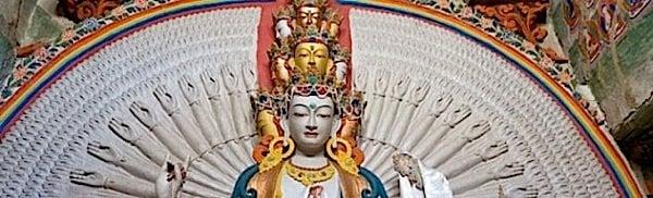 Buddha Weekly avalokiteshvara statue chenrezig guanyin Buddhism