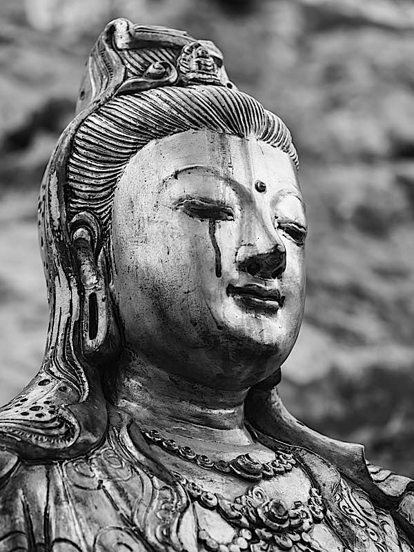 Buddha Weekly Crying Guan Yin weeping for the suffering world Buddhism
