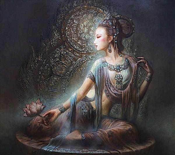 Buddha Weekly Guan yin Kuan Yin Avalokiteshvara Newari Buddhism