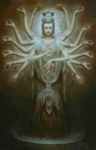 Buddha Weekly Guanyin 1000 armed zeng hao Buddhism