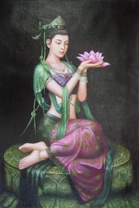 Buddha Weekly Guanyin newari western modern Buddhism