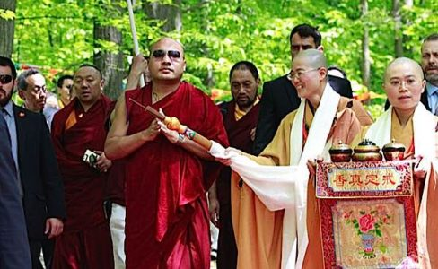 Buddha Weekly H.H. Karmapa dedicates Great Compassion Bodhi Prajna Temple Buddhism