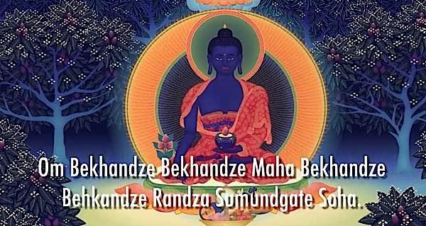 Buddha Weekly Medicine Buddha and mantra Buddhism