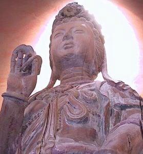 Buddha Weekly Ming Dynasty Kuan Yin Statue square courtesy Antiquezen Buddhism