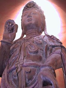 Buddha Weekly Ming Dynasty Kuan Yin Statue vertical courtesy Antiquezen Buddhism