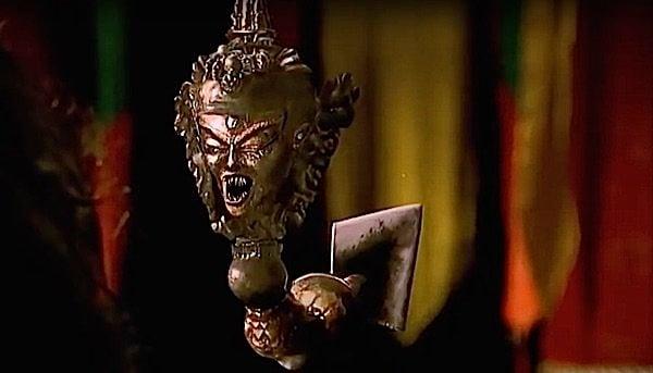 Buddha Weekly Phurba comes alive in The Shadow staring Alec Baldwin 1994 Buddhism