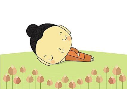 Buddha Weekly Posture for sleeping Yoga Dream Yoga Tibetan Buddhism Buddhism