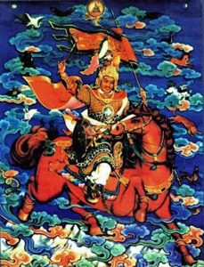 Buddha Weekly Beautiful King Gesar of Ling Tibet Buddhism