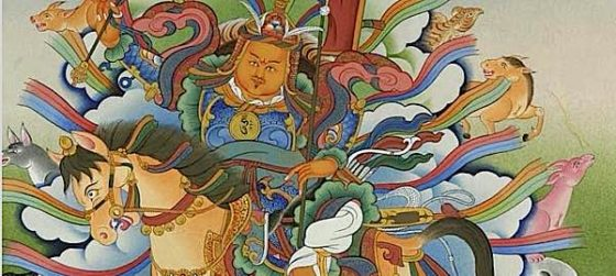 Buddha Weekly Gesar of Ling Buddhist King allegorical story about warrior and fear Buddhism