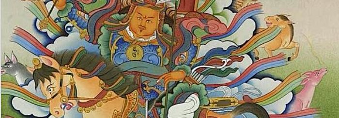 Becoming Gesar, the fearless Buddhist: How to overcome fear in uncertain times, according to Pali Sutta, Mahayana Sutra and Tantra