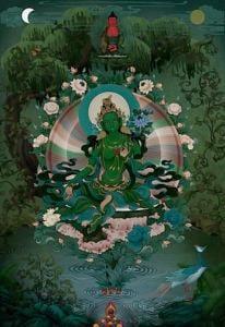 Buddha Weekly Green Tara Amitbha Buddhism