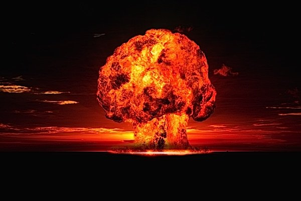 Buddha Weekly Nuclear bomb mushroom cloud fear Buddhism