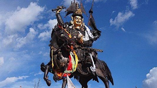 Buddha Weekly Statue King Gesar of LIng Buddhism 1